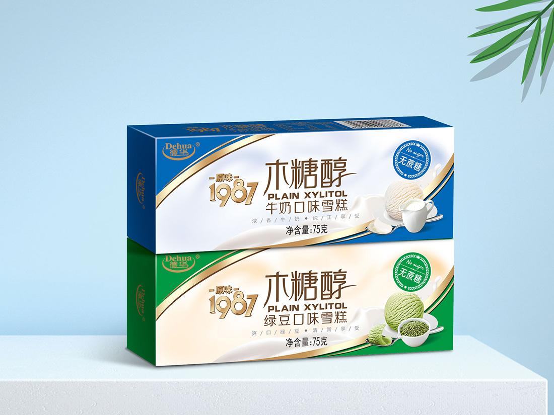 原味木糖醇-牛奶口味-绿豆口味